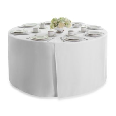 Round 60-Inch Folding Table Tablecloth