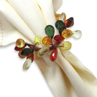Autumn Sparkle Napkin Ring