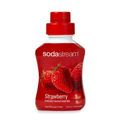 SodaStream Strawberry Sodamix Flavor