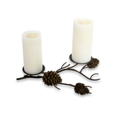 Metallic Christmas Candles