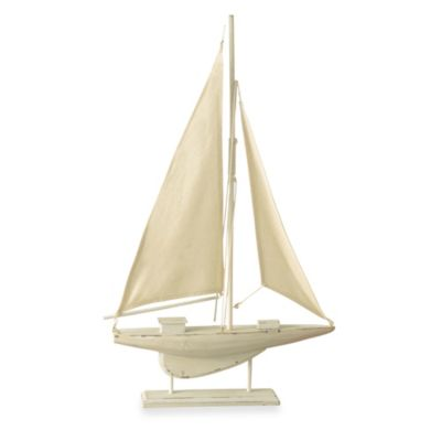 Decorative Wooden Sailboat