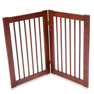 2 Panel Folding Pet Gate