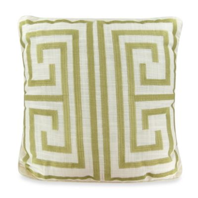 Tommy Bahama® Catalina Square Throw Pillow in Ivory