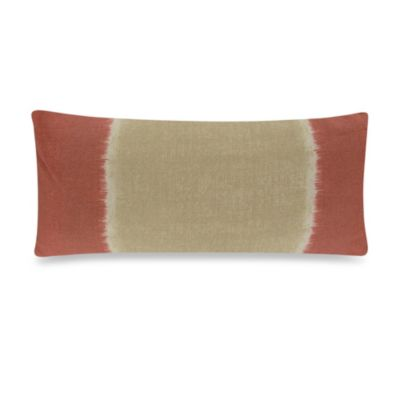 Ivory/Tangerine Throw Pillows