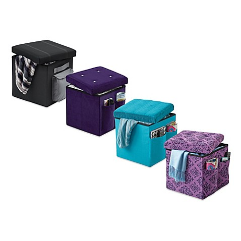 Sit and store folding storage ottoman for Ottoman to sit on
