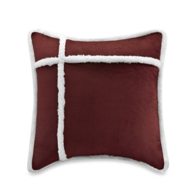 The Seasons®  Reversible Down Alternative Square Toss Pillow