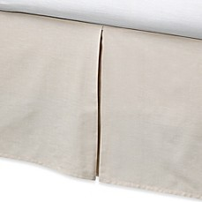 DKNY® City Rhythm Bed Skirt in Linen