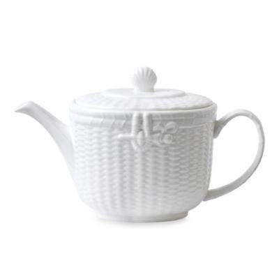 Wedgwood® Nantucket Basket Teapot