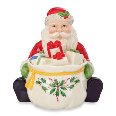 Lenox® Covered Santa Candy Jar