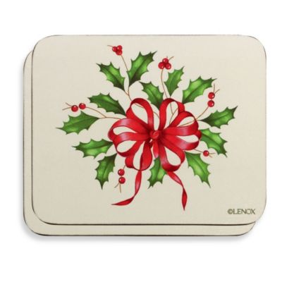 Lenox® Holiday™ Coasters (Set of 6)