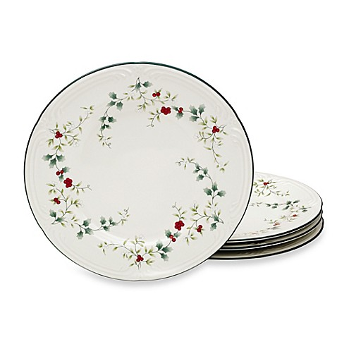 Buy Pfaltzgraff 174 Winterberry Dinner Plates Set Of 4 From