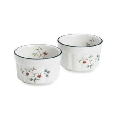 Pfaltzgraff® Winterberry 10 oz. Ramekins (Set of 2)