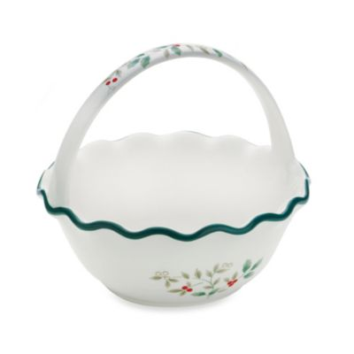 Pfaltzgraff® Winterberry Handled Ruffled Bowl
