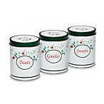 Pfaltzgraff® Winterberry Round Storage Tins (Set of 3)
