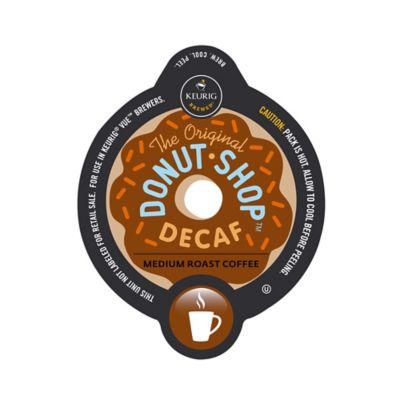Vue® 16-Count Donut Shop® Decaf Coffee for Keurig® Brewers