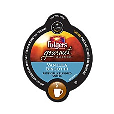 Vue™ Pack 16-Count Folgers Gourmet Selections® Vanilla Biscotti Coffee for Keurig Brewers