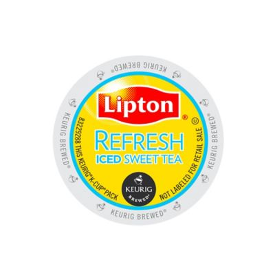 K-Cup® 16-Count Lipton Refresh Sweet Iced Tea for Keurig® Brewers