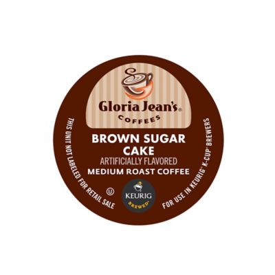 K-Cup® 18-Count Gloria Jean's® Brown Sugar Cake for Keurig® Brewers