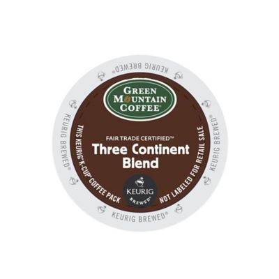 K-Cup® 18-Count Green Mountain Coffee® Three Continent Blend for Keurig® Brewers
