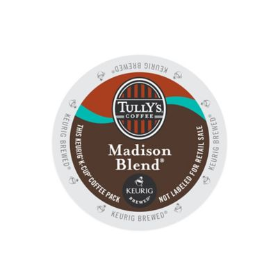 K-Cup® 18-Count Tully's Madison Blend for Keurig® Brewers