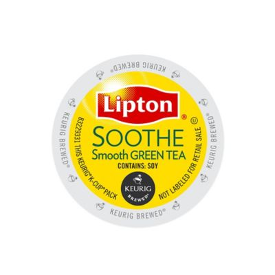 K-Cup® 18-Count Lipton Soothe Green Tea for Keurig® Brewers