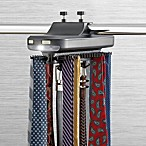 Battery Powered Revolving Tie Rack