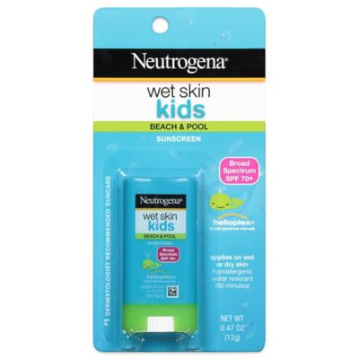 Neutrogena® Wet Skin Kids Stick Sunscreen Broad Spectrum SPF 70