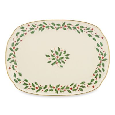 Lenox® Holiday™ 15.25-Inch Oblong Platter