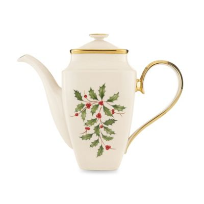 Lenox® Holiday™ Square Coffee Pot