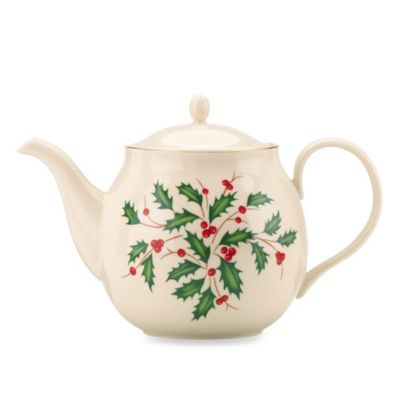 Lenox® Holiday™ Teapot