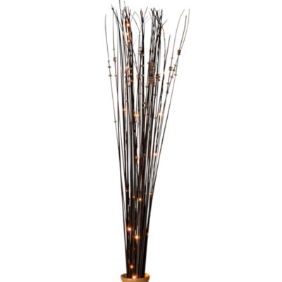 39-Inch Battery Operated Brown Ting Ting LED Lighted Branches