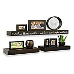 Inspirational 3-Piece Decorative Shelf Set