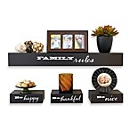 Inspirational 4-Piece Decorative Shelf Set