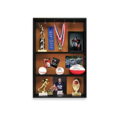 Trophy Display Shelf in Matte Black