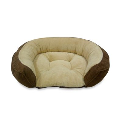 Canine Creations Orthopedic Couch Style Step In Bed in Brown