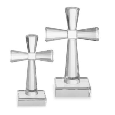 Oleg Cassini 9-Inch Jubilation Crystal Cross