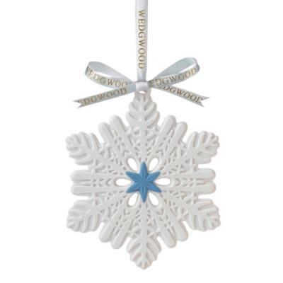 Wedgwood® 2013 Snowflake Ornament