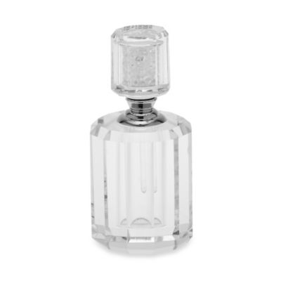 Oleg Cassini 4 1/2-Inch Crystal Diamond Perfume Bottle