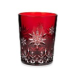 Waterford® Crystal Snowflake Wishes 1st Edition Joy Lismore Prestige Ruby Double Old Fashioned