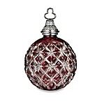 Waterford® 2013 Cased Ball Ruby Ornament