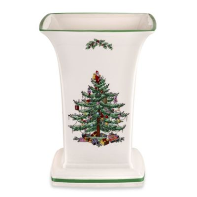 Spode® Christmas Tree 8-Inch Square Vase