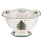 Spode® Christmas Tree 8-Inch Hexagonal Footed Bowl