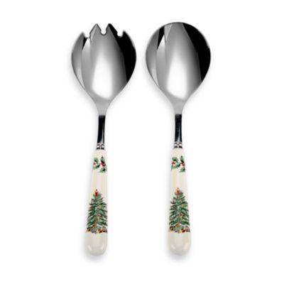 Spode® Christmas Tree Salad Servers