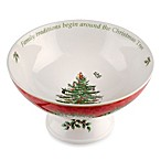 Spode® Christmas Tree 8.5-Inch 2013 Annual Footed Compote Serving Bowl