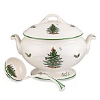 Spode® Christmas Tree 75th Anniversary Footed Tureen and Ladle