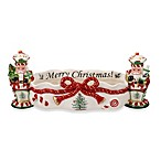 Spode® Christmas Tree Peppermint Nutcracker Cracker Dish