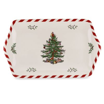 Spode® Christmas Tree 12-Inch Dessert Tray