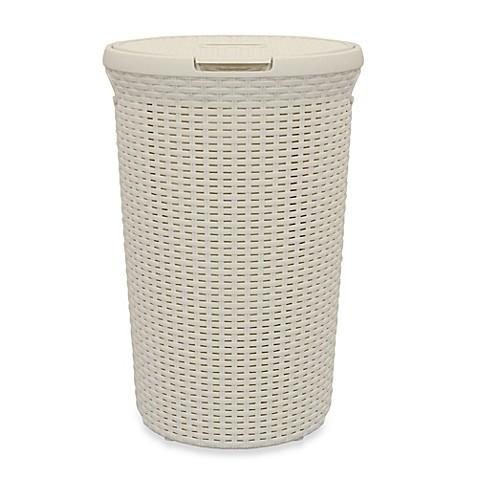 Buy Lamont Curver 48 Liter Laundry Hamper In Clay White