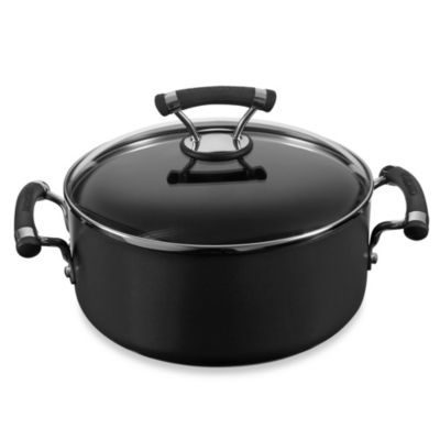 Circulon® Contempo™ Hard Anodized Nonstick 5-Quart Covered Dutch Oven
