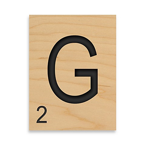 buy game tile letter quotgquot wall art from bed bath beyond With letter g wall art